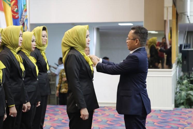 Perwosi Pacu Prestasi Atlet Perempuan Lampung