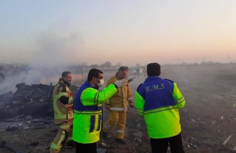 Pesawat Terjatuh di Iran Renggut 176 Nyawa