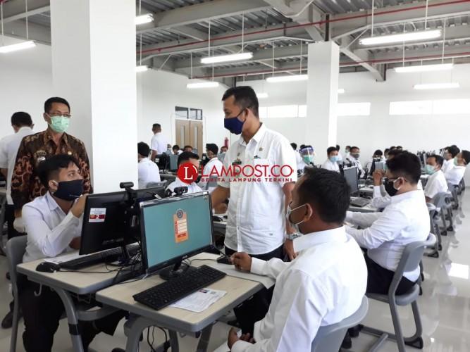 Peserta Tes SKB CPNS Kesulitan Kerjakan 100 Soal Kemampuan Bidang