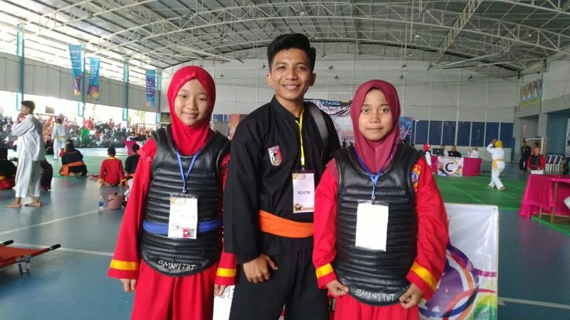 Pesilat SDS Alfurqon Raih Emas dan Perak di Ajang Lampung Championship 2019