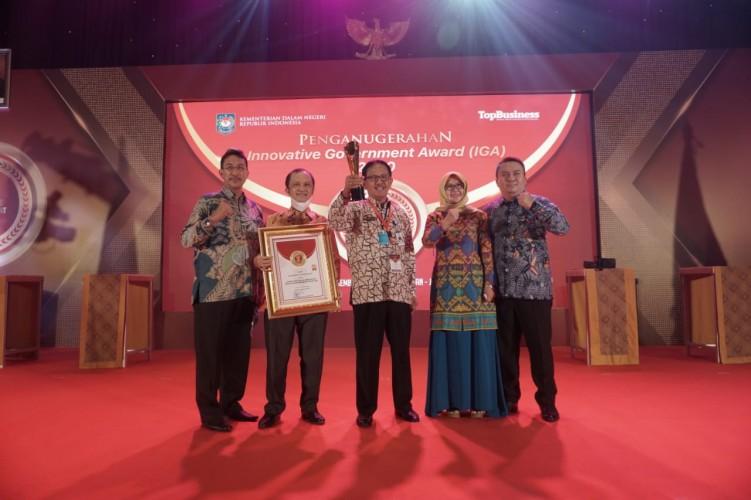 Pesisir Barat Dapat Penghargaan IGA 2020 dari Kemendagri