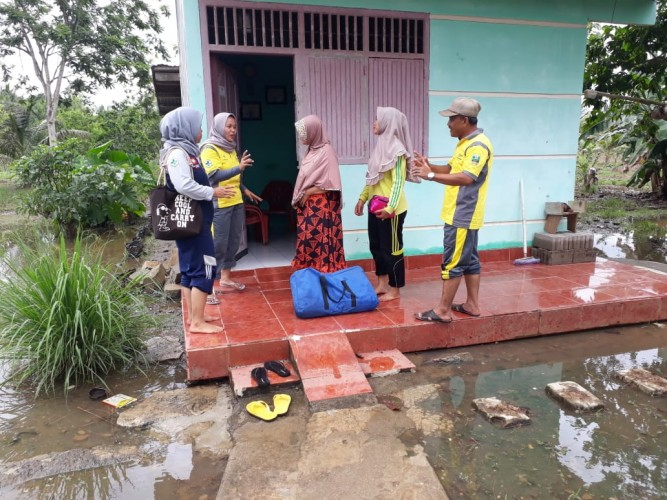 Pesisir Barat Siagakan Faskes Hadapi Dampak Bencana