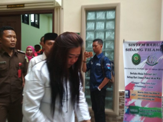 Pesta Narkoba, Dua Sejoli Divonis 22 Bulan Penjara