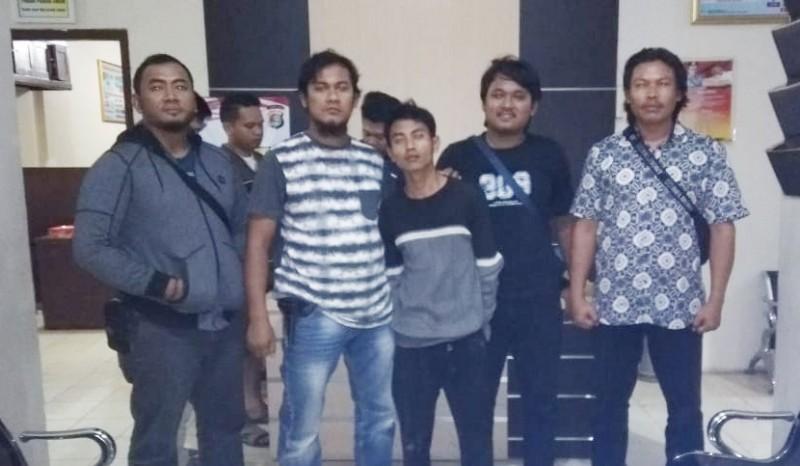 Pesta Narkoba, Satu Pemuda Ditangkap Dua Kabur