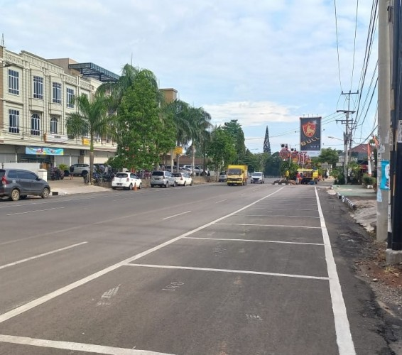 Peta Pengalihan Arus Lalu Lintas saat Peresmian Taman Soekarno Bandar Lampung Besok