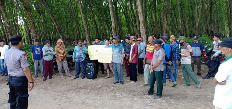 Petani Singkong Penumangan Geruduk PT BSSW