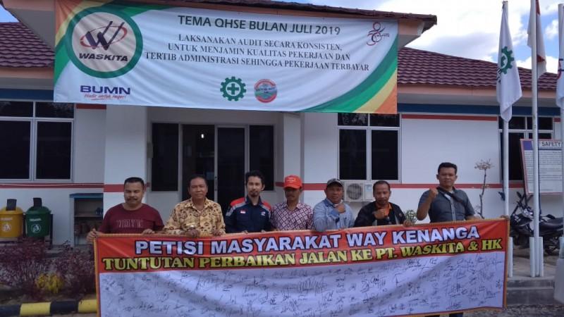 Petisi Warga Waykenanga Berujung Kerja Sama dengan PT Waskita Karya