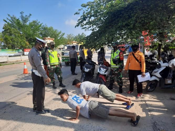 Petugas Mulai Lakukan Penegakan Protokol Kesehatan di Mesuji