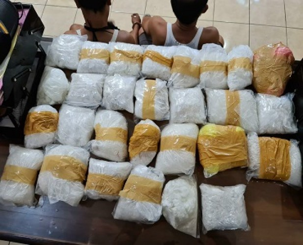 Petugas SI Bakauheni Gagalkan Penyelundupan 28 Paket Sabu