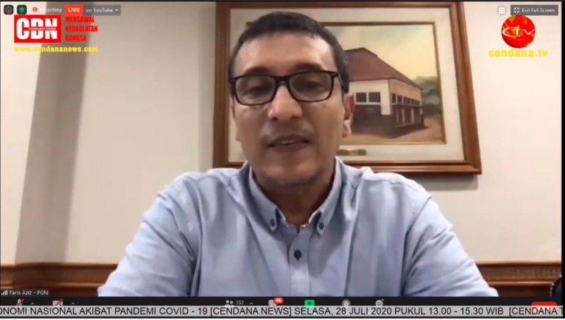 PGN Komitmen Andil Dalam Pemulihan Perekonomian Nasional