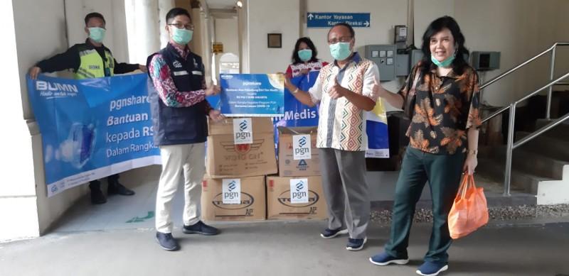 PGN Salurkan Bantuan CSR untuk Hadapi Covid-19