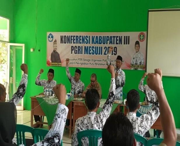 PGRI Dituntut Sinergi dengan Pemkab Mesuji