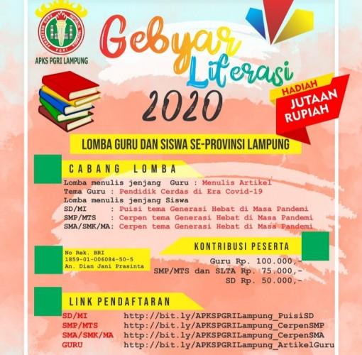 PGRI Lampung Adakan Gebyar Literasi Semarakkan Bulan Bahasa