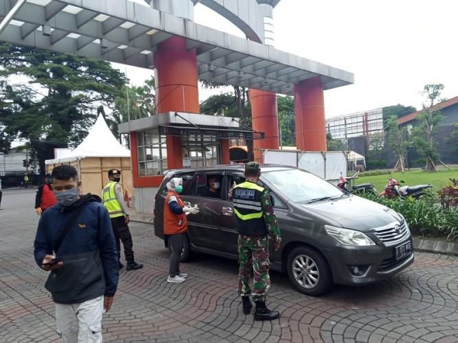 Pikap Selundupkan Rombongan Pemudik di Malang
