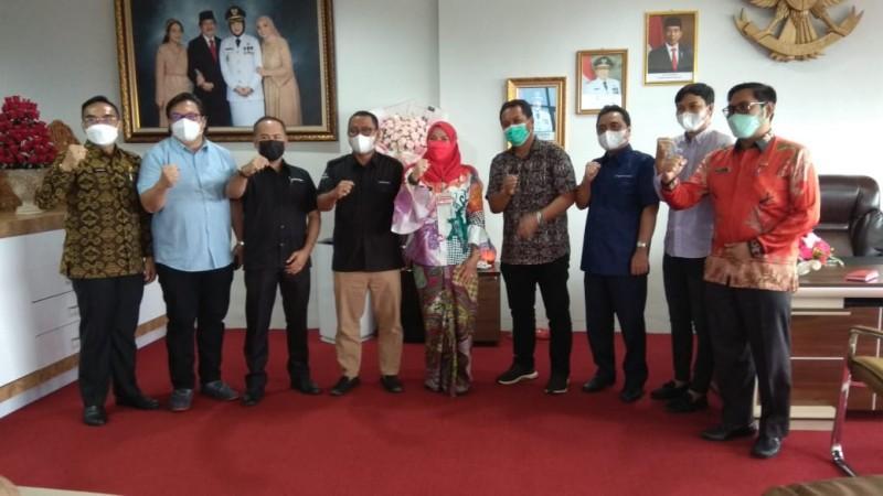 Pimpinan MGN Jalin Silaturahmi dengan Wali Kota Bandar Lampung