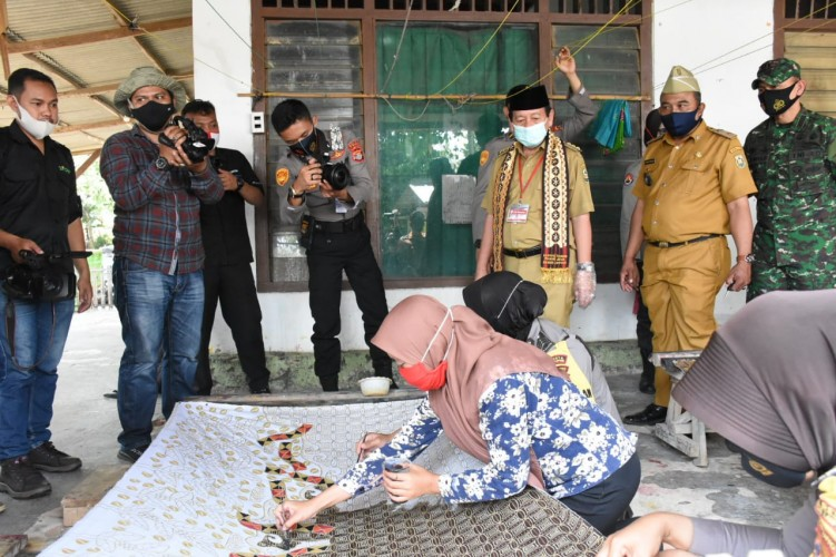 Pinangjaya Ditetapkan Sebagai Kampung Tangguh Nusantara