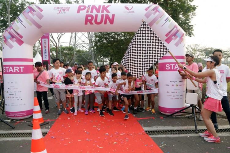 Pink Run Digelar Untuk Tingkatkan Kesadaran Mengenai Kanker Payudara