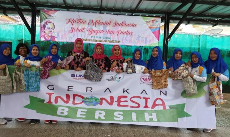 PIP Unit Panjang Gelar Aksi Gerakan Indonesia Bersih