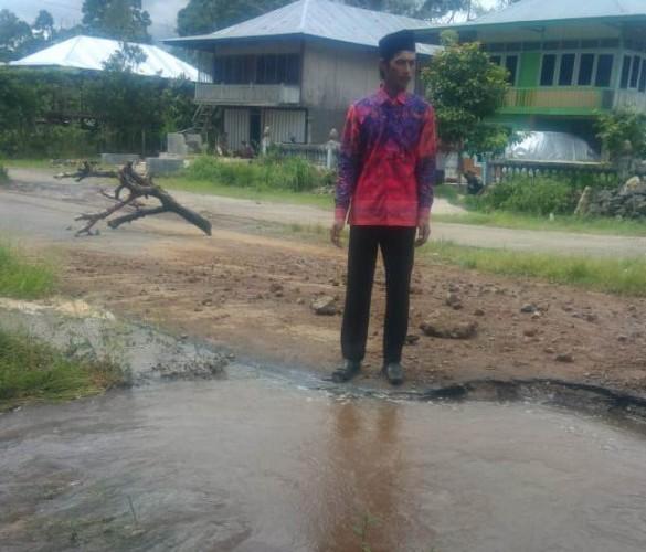 Pipa Induk Jebol, PDAM Setop Alirkan Air Bersih