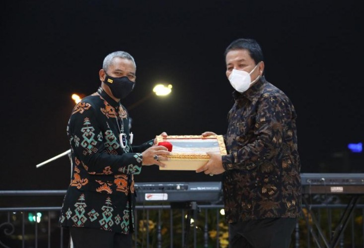 Pisah Sambut Danrem 043/Gatam, Gubernur: Mari Bersinergi Wujudkan Ketenteraman di Lampung