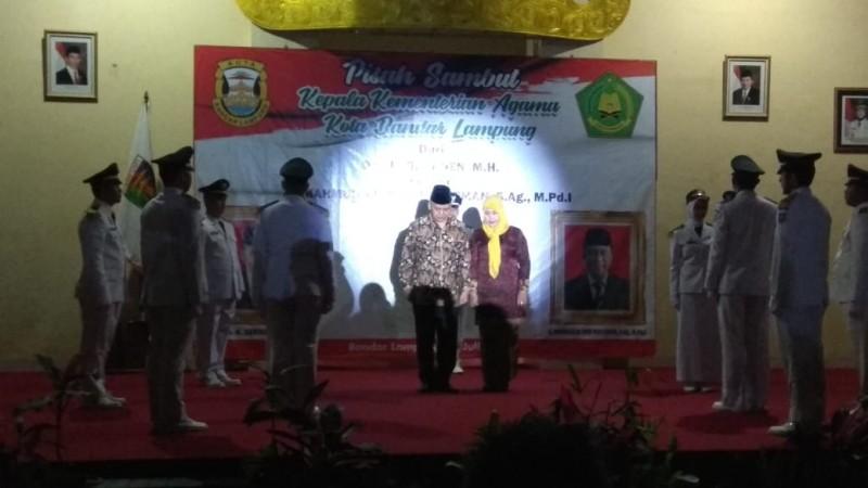 Pisah Sambut Kepala Kemenag dari Seraden Nihan, Kepada Mahmuddin Aris Rayusman