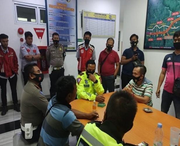 PJR Ditlantas Polda Rutin Patroli di JTTS Cegah Kriminalitas