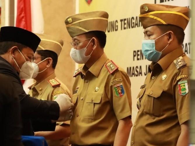 Pjs Bupati Lamteng Optimalkan Protokol Kesehatan dan Peran Satgas