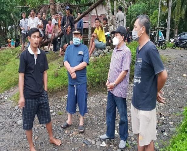 Pjs Bupati Pesisir Barat Awasi Pencarian Korban Hanyut di Way Tenubang
