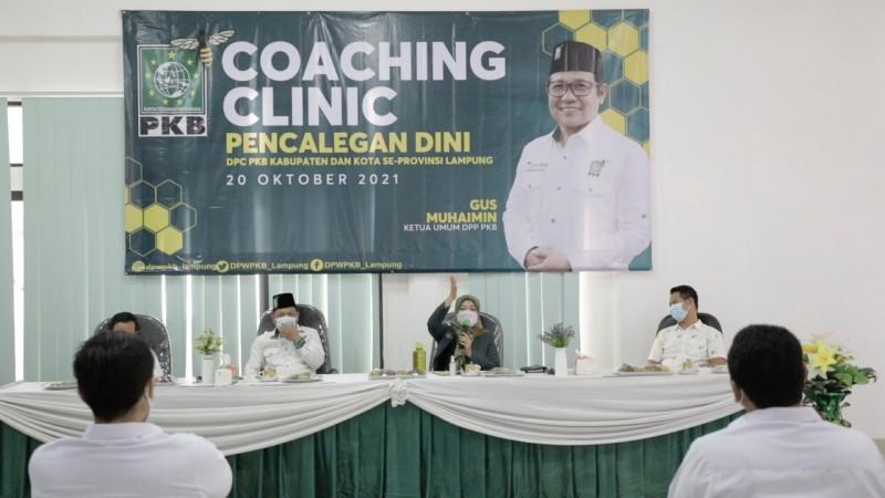 PKB Lampung Gelar Coaching Clinic Pencalegan Dini