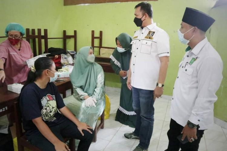 PKB Lampung Gelar Vaksin di Tiga Pondok Pesantren Lamtim