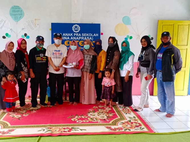 PKBI Lambar Bentuk Kelompok Bina Anaprasa untuk Anak Prasekolah