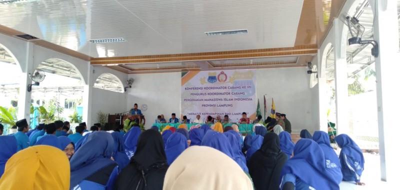 PKC PMII Lampung Gelar Konferensi di Lamteng