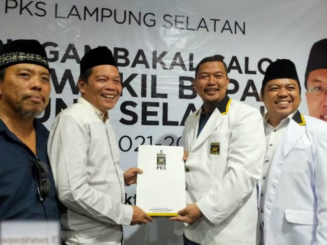 PKS Wawancarai 4 Calon Kepala Daerah Lamsel