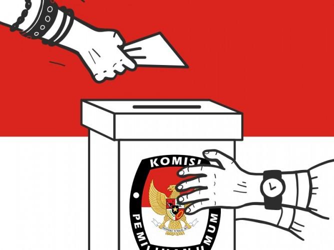 Pleno 24 Kecamatan di Lampung Timur, Dawam–Azwar Menang 39,65%