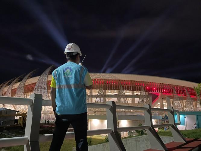 PLN Sukses Hadirkan Listrik Tanpa Kedip Saat PON XX Dibuka Presiden Jokowi