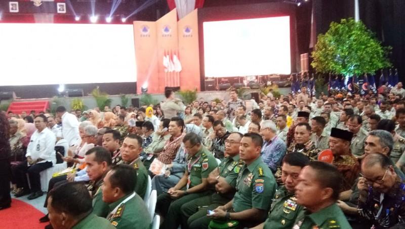 Plt Bupati Lamsel Hadiri Rakor BNPB se- Indonesia di Surabaya