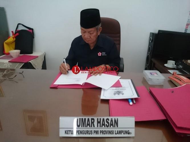 PMI Lampung Buka Donasi untuk Korban Gempa Sulawesi Tengah