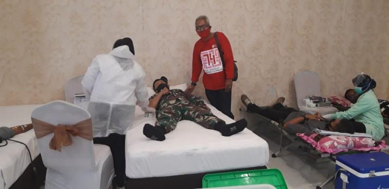 PMI Pringsewu Tak Larang Orang Bertato Melakukan Donor Darah