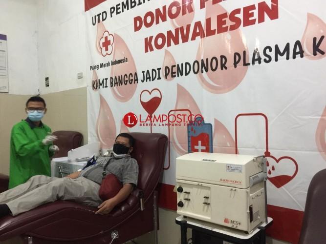 PMI Tetap Buka Layanan Donor Plasma Meski Kasus Menurun