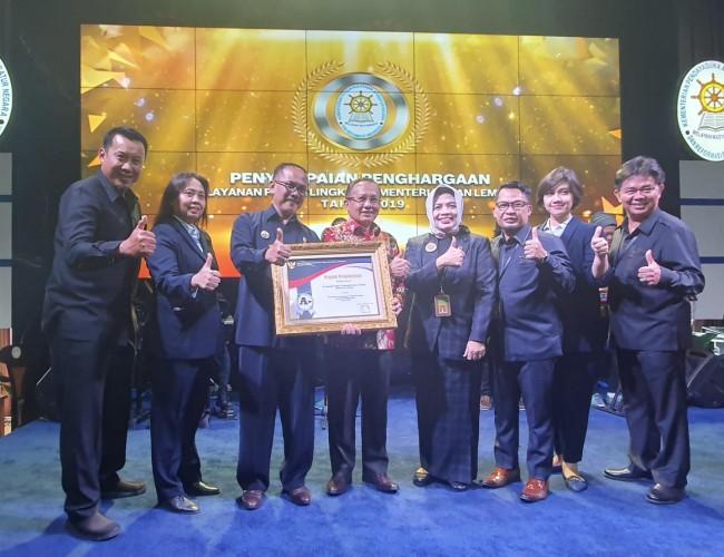 PN Tanjungkarang Raih Penghargaan Pengadilan dengan Pelayanan Publik Terbaik