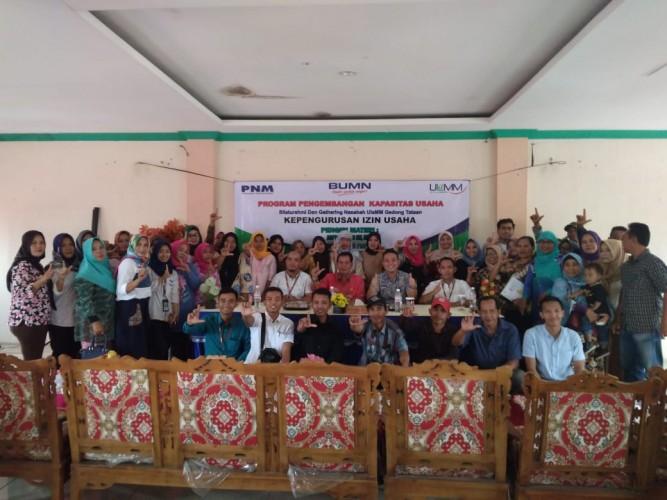 PNM Latih 38 Nasabah Binaan di Pesawaran