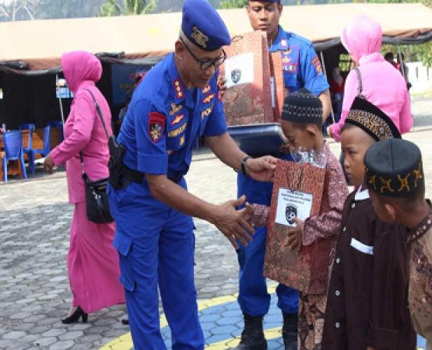 Polairud Polda Lampung Gelar Baksos Peringati HUT Ke-69