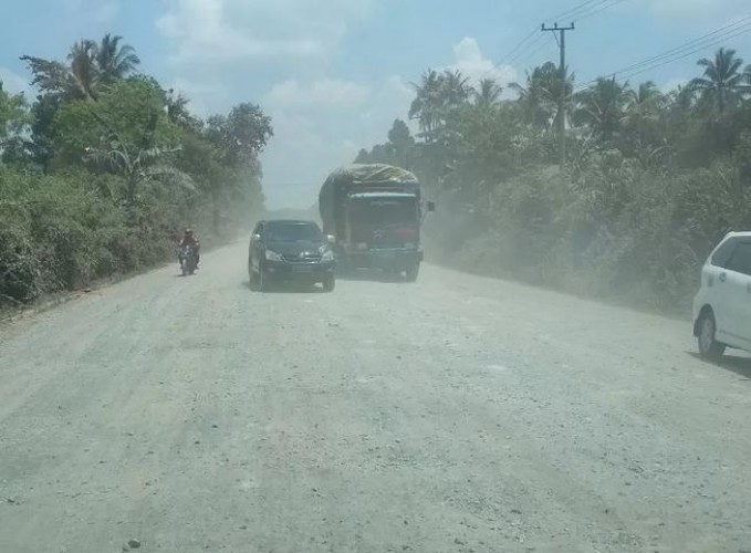 Polda Bidik Pidana Tambang Perusahaan Pemegang Proyek Jalan Sutami