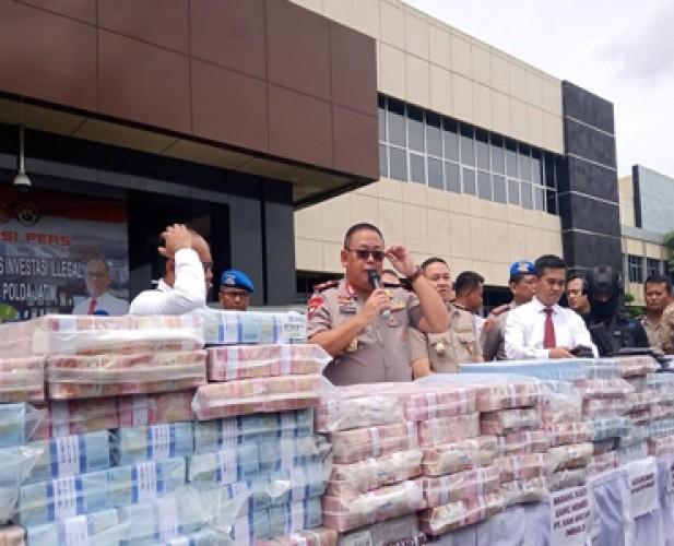 Polda Jatim Bongkar Investasi Bodong Beromzet Rp750 Miliar
