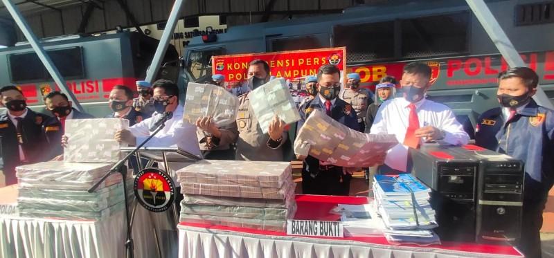 Polda Kembali Sita Rp100 Juta dari Tersangka Korupsi Jalan Sutami