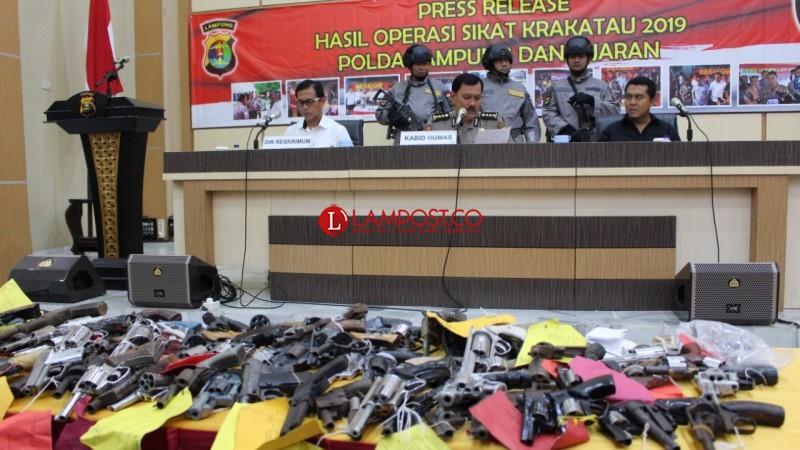 350 Bandit di Lampung `Disikat`