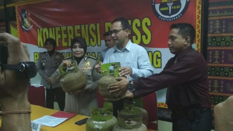 Polda Lampung Bongkar Penyebab Elpiji 3kg Langka