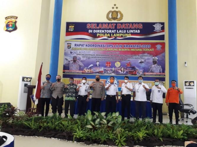 Polda Lampung Cek Kesiapan Hadapi Libur Natal dan Tahun Baru