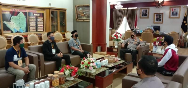Polda Lampung Dorong Pengembangan Atlet Esport
