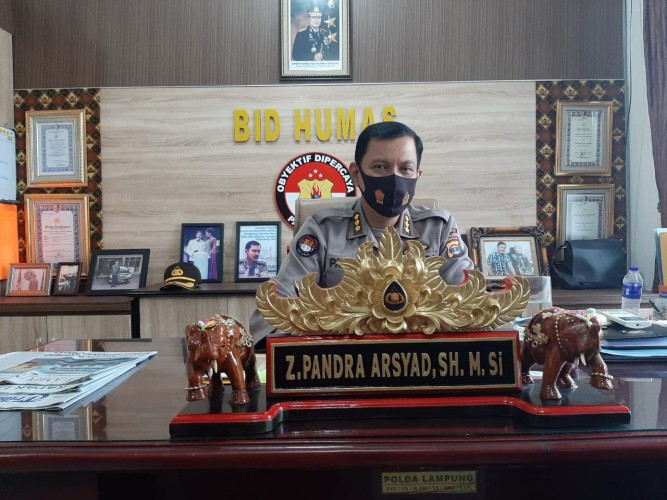 Polda Lampung Imbau Pengguna Jalan Tol Waspada Saat Melintas